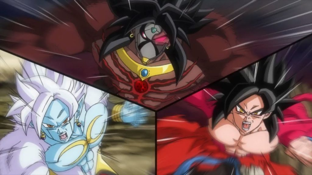 Dark Broly Super Saiyan 4 dans Super Dragon Ball Heroes
