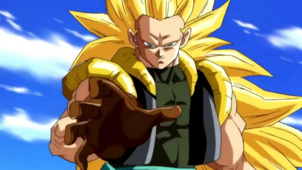 Gotenks Super Saiyan 3 adulte dans Super Dragon Ball Heroes